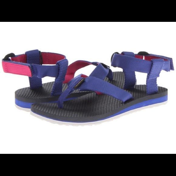 4911bf4df Teva Original Sandal Velcro Dark Blue pink. M 5b071f193800c593c3f3c119